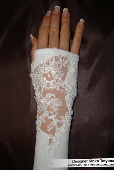 Свадебные перчатки ПД-1