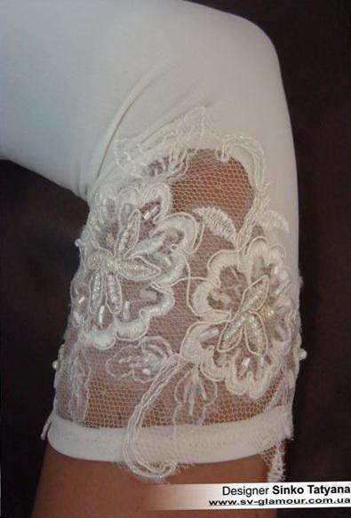 Свадебные перчатки ПД-10