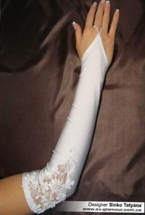 Свадебные перчатки ПД-14