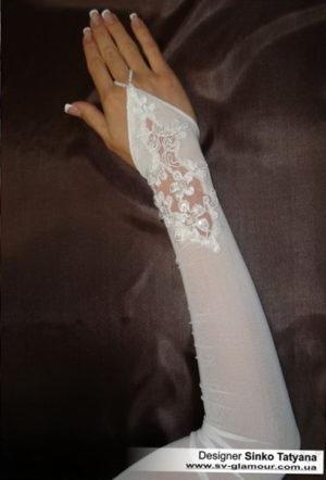 Свадебные перчатки ПД-21