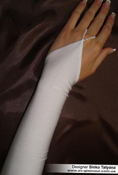 Свадебные перчатки ПД-6
