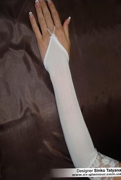 Свадебные перчатки ПД-7
