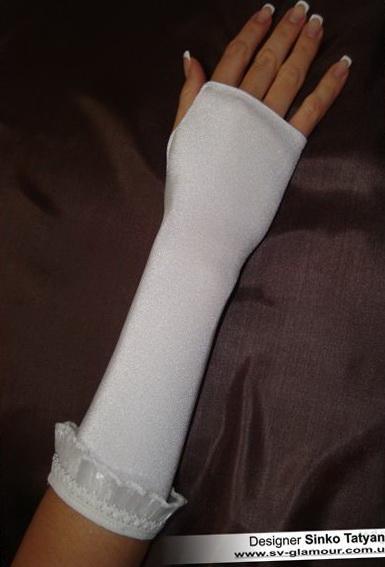 Свадебные перчатки ПК-22