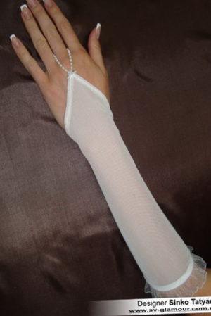 Свадебные перчатки ПК-25