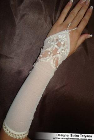 Свадебные перчатки ПК-17
