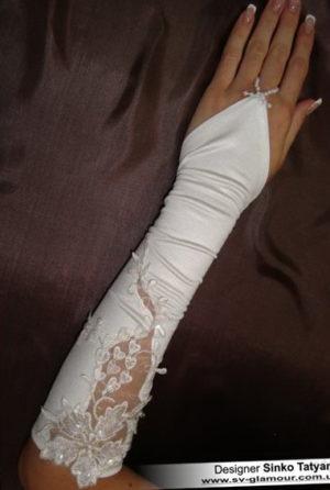 Свадебные перчатки ПК-18