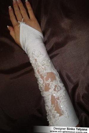 Свадебные перчатки ПК-20