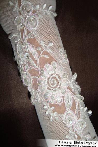 Свадебные перчатки ПК-24