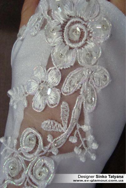 Свадебные перчатки ПКМ-27