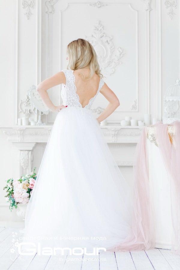 Свадебное платье Julianna c открытой спиной