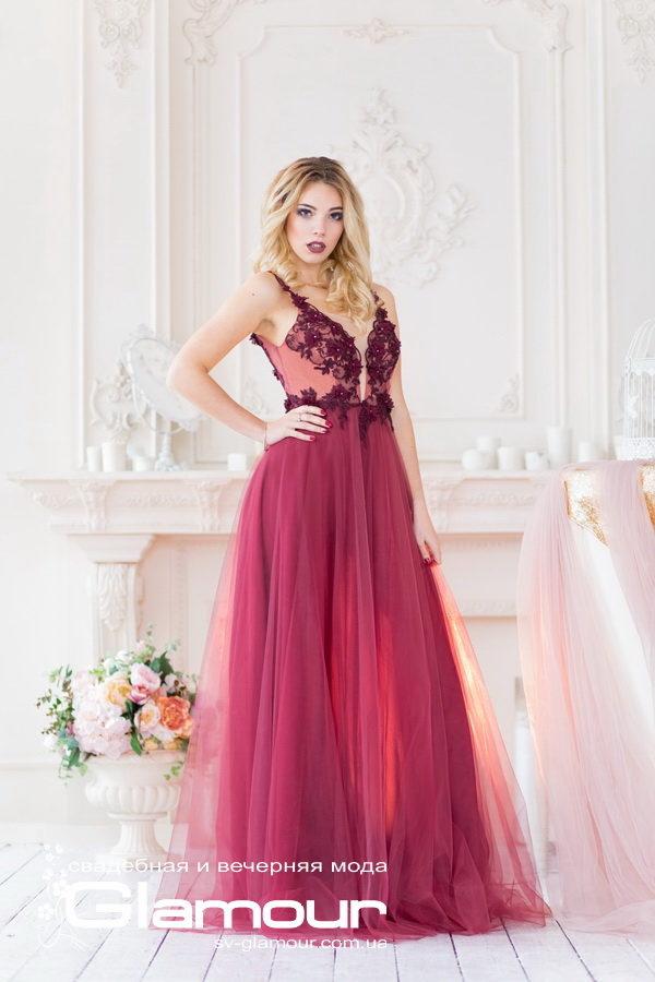 Длинное вечернее платье от Татьяны Синько