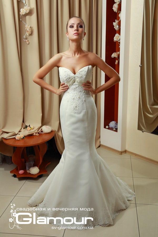 Свадебное платье Рыбка айвори. Скидки.Акции.
