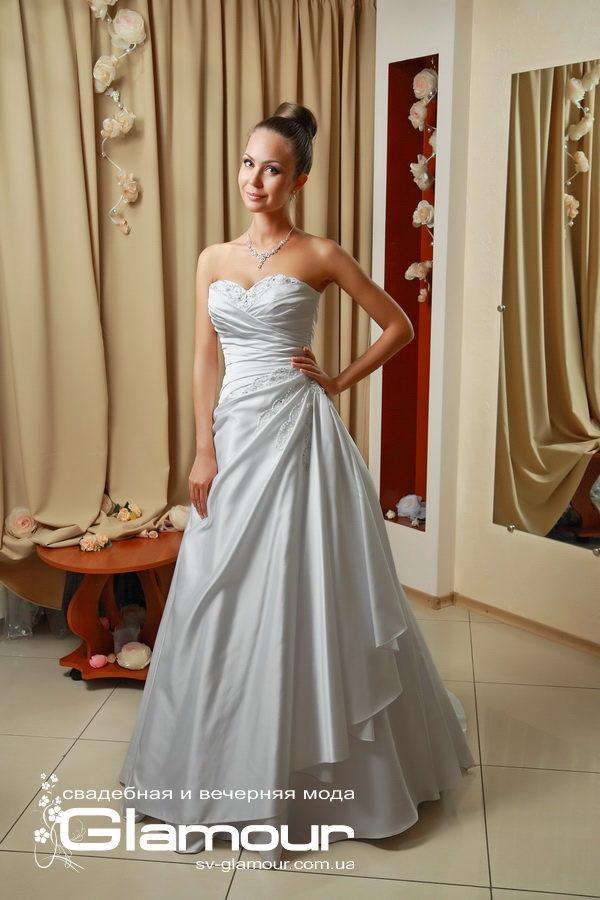 Классическое силуетное свадебное платье. цвета слоновой кости. Скидки. Акция. ОПТ.
