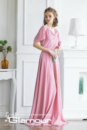 Вечернее платье Tulip с коротким рукавом