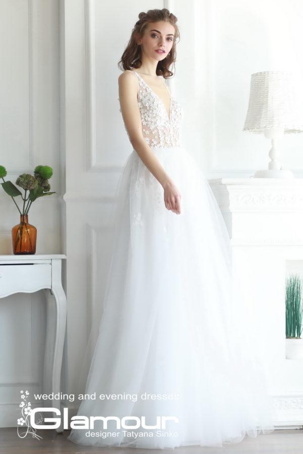 "Свадебное платье Elsa салон ""Glamour"""
