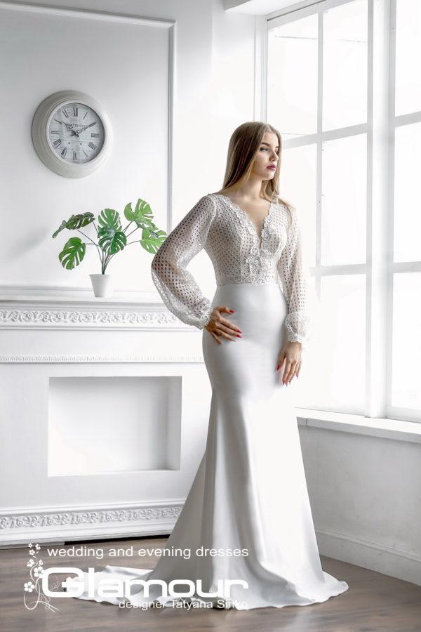 Платье белое свадебное LANESTA