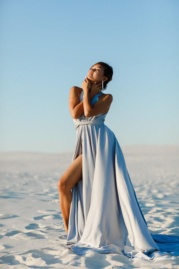 """Платье длинное трансформер салон"""" Glamour"""""""